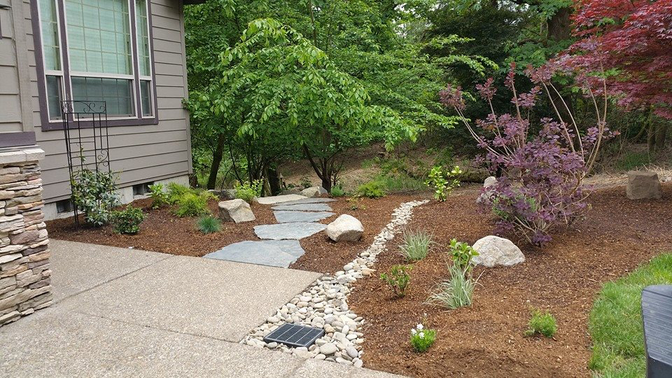 Residential Landscape Renovation Project in Milwaukie Or